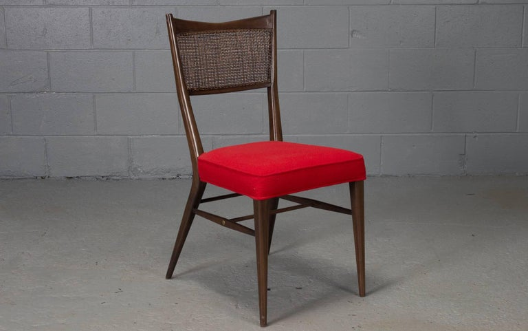 Mid-Century Modern Set of Four Irwin Collection Dining Chairs by Paul McCobb for Directional For Sale