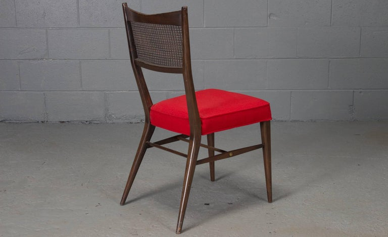 Set of Four Irwin Collection Dining Chairs by Paul McCobb for Directional In Good Condition For Sale In Belmont, MA