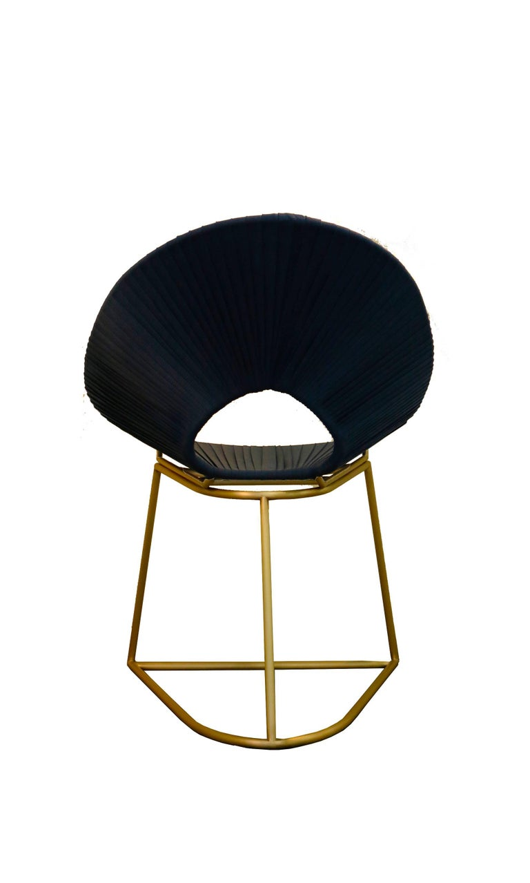 Brazilian Cacique Chair, Brass Limited Edition - Contemporary Outdoor Furniture Design For Sale