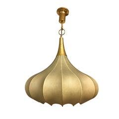 Italian Cocoon Pendant Lamp in the Manner of Pier and Achille Castiglioni