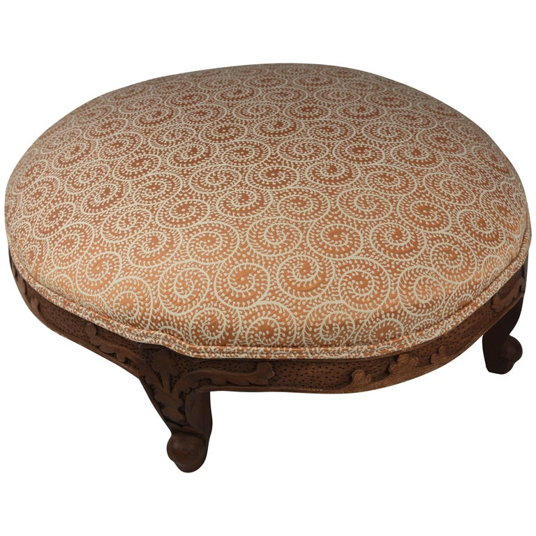 English Victorian Footstool