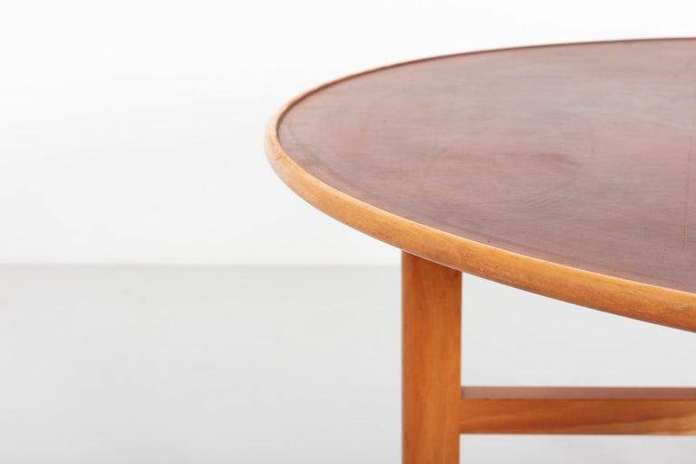 Mid-20th Century Dining Table by David Rosén for Nordiska Kompaniet, Sweden, 1950s For Sale