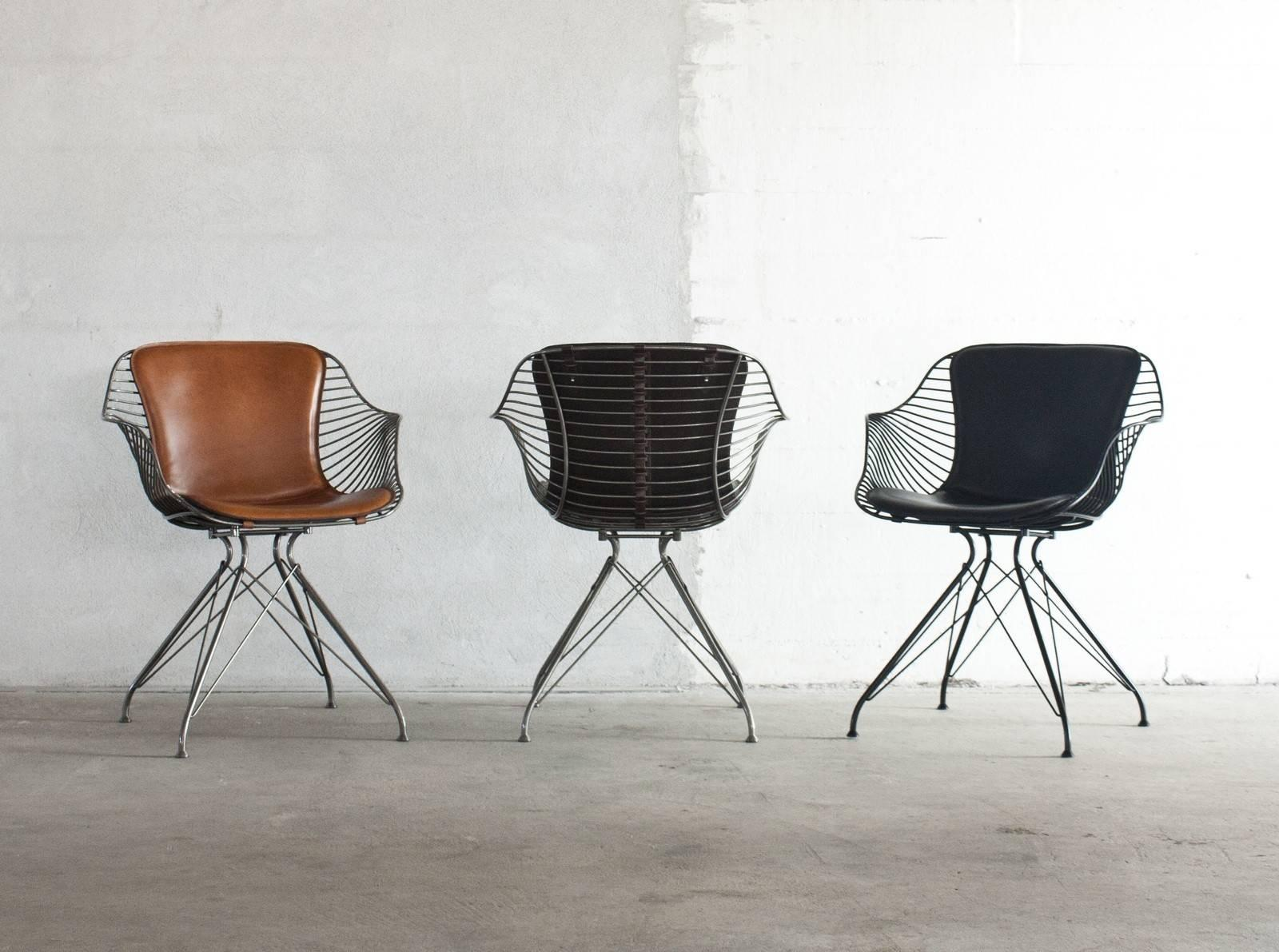 Wire Dining Chair For Sale at 1stdibs