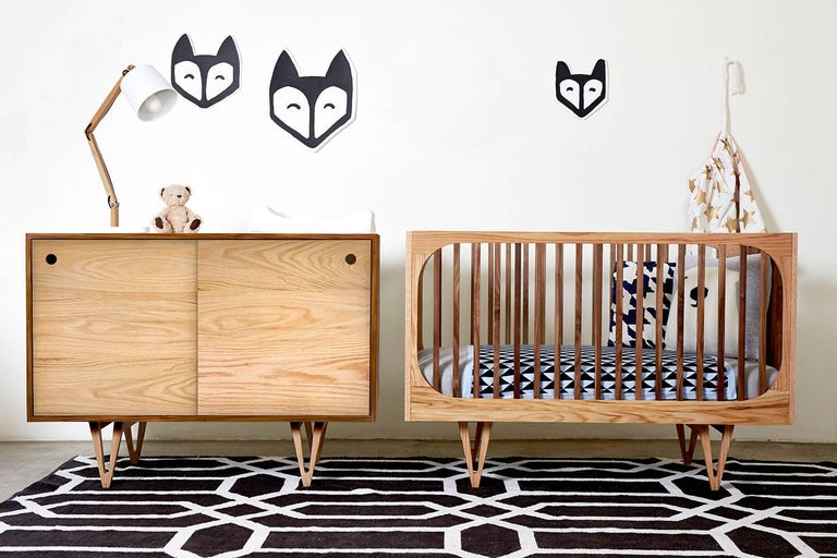 Inspired By Mid Century Modern Design The Harrison 3 In 1 Crib Is A