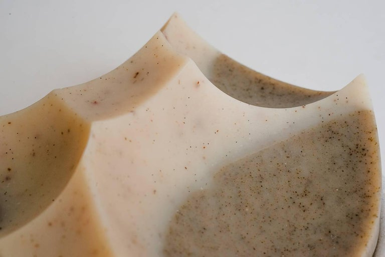 Cardamom Vetiver, Hand-Poured Soap, Erode Series by UMÉ Studio In New Condition For Sale In Oakland, CA
