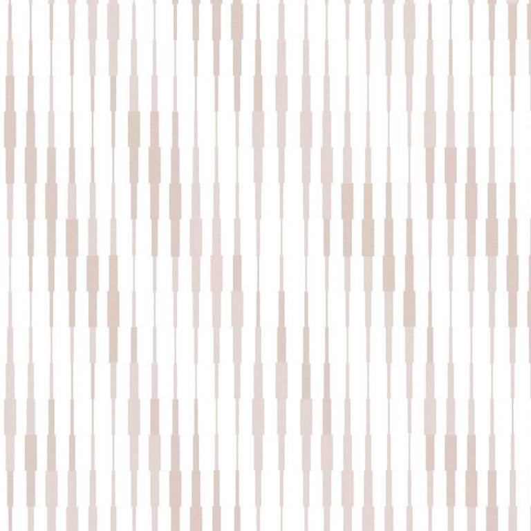 Cascade Wallcovering in Pearl Colorway