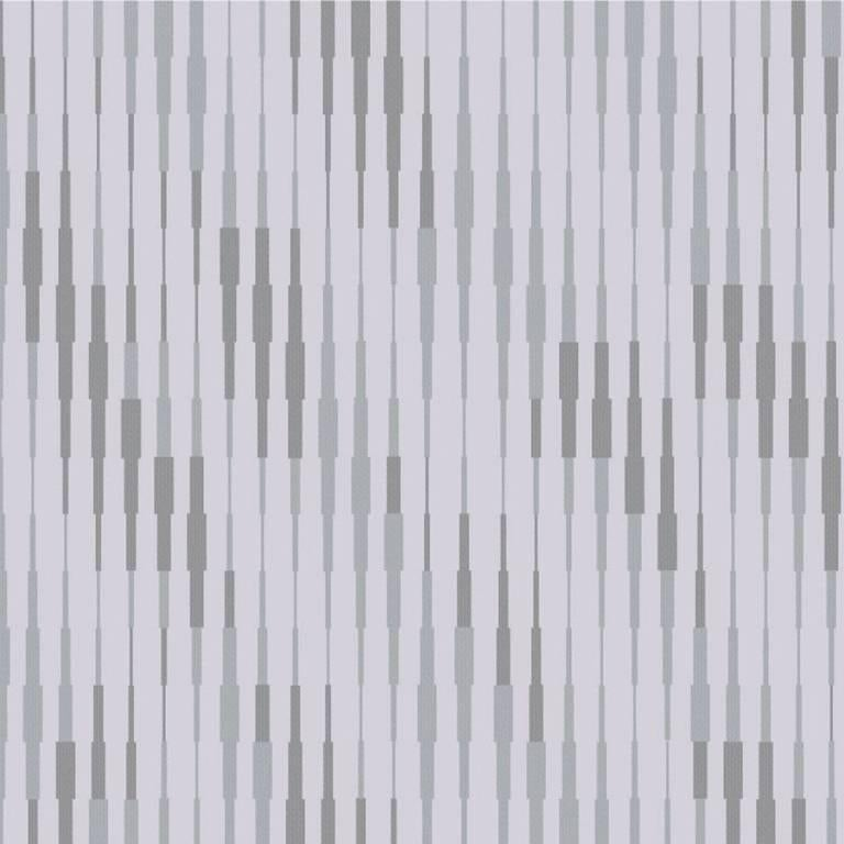 Cascade Wallcovering in Silver Rain Colorway