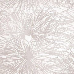 Hand-Screened Anemone Wallpaper in Alique Colorway