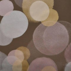 Hand-Screened Luci Della Città Wallpaper in Autumn Colorway
