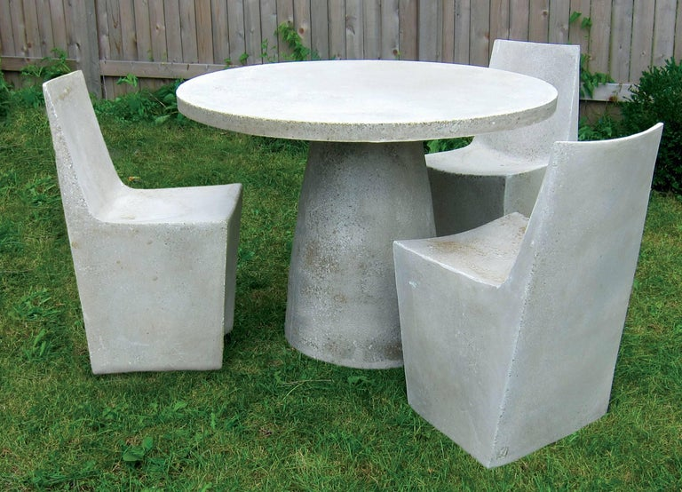 Cast Resin 'Hive' Dining Table, Aged Finish by Zachary A  Design