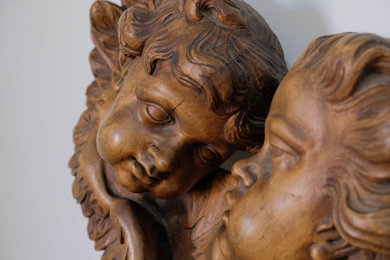 Other Carved Cherubs, Late 1800s For Sale