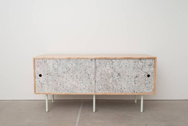 Basic bitch contemporary birch credenza sideboard with