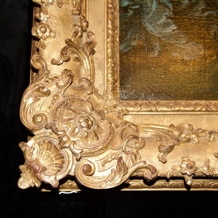 French 18th Century Royal Portrait by Nattier Workshop For Sale