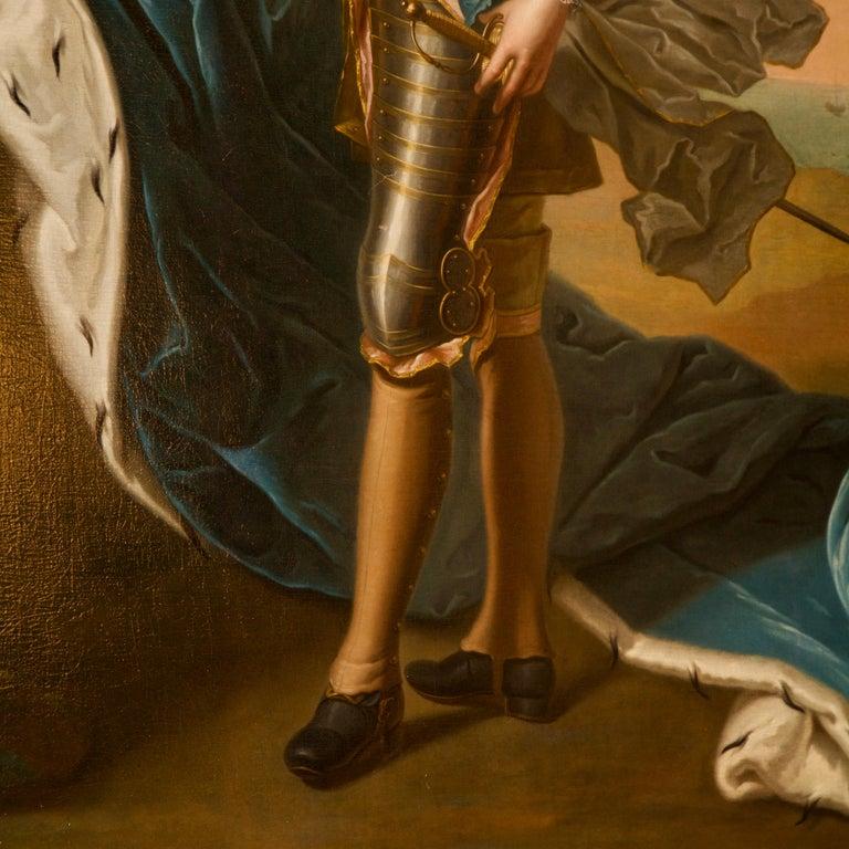 18th Century Royal Portrait by Nattier Workshop For Sale 1