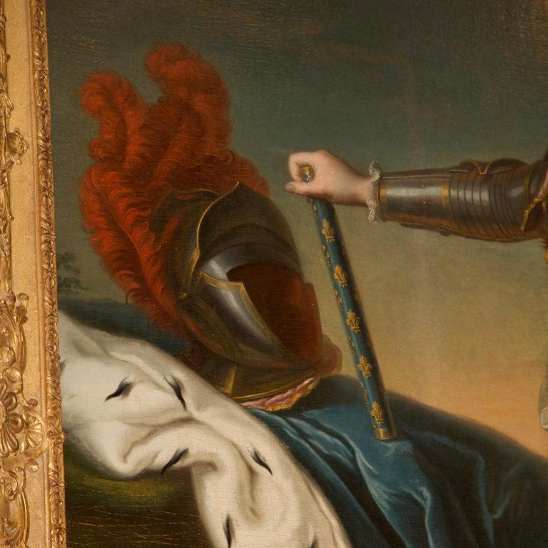 18th Century Royal Portrait by Nattier Workshop For Sale 2