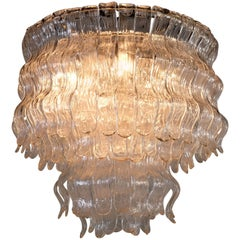 Spectacular Chandelier by Barovier & Toso, 1970s