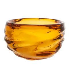 Modern Glass Bowl, Aurora Happy Bowl by Siemon & Salazar - Made to Order