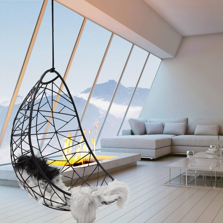 Nest Egg Hanging Swing Chair For Sale 1