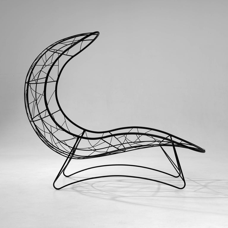 Contemporary Recliner 'Single' Hanging Swing Chair For Sale