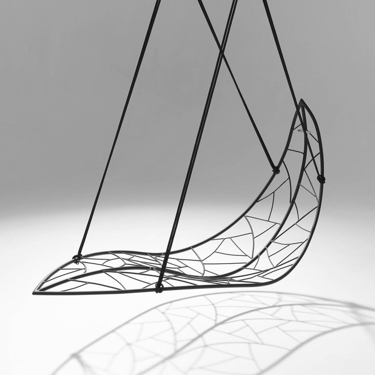 Hand-Crafted Leaf Hanging Swing Chair For Sale