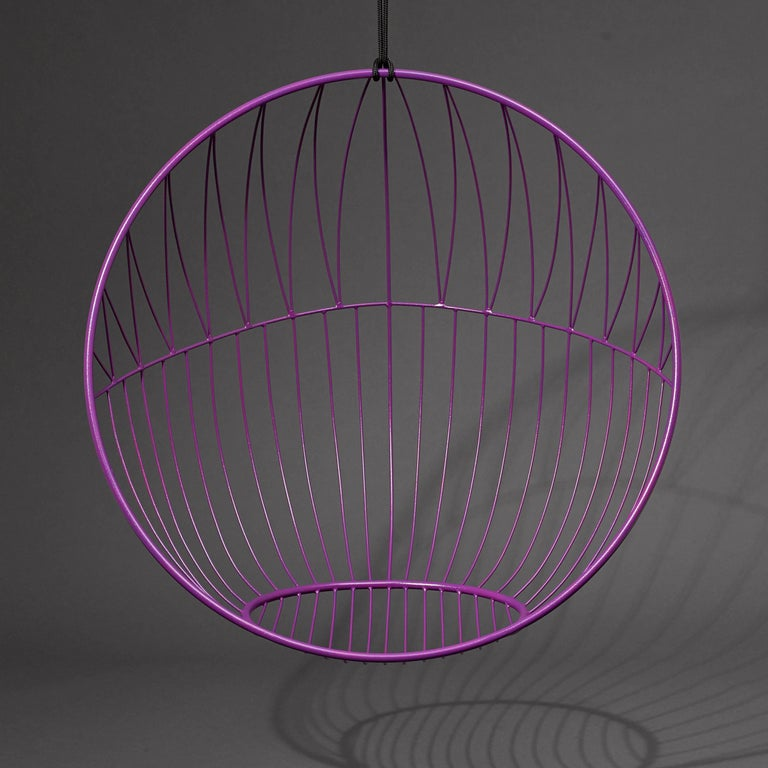 Contemporary Bubble Hanging Swing Chair For Sale