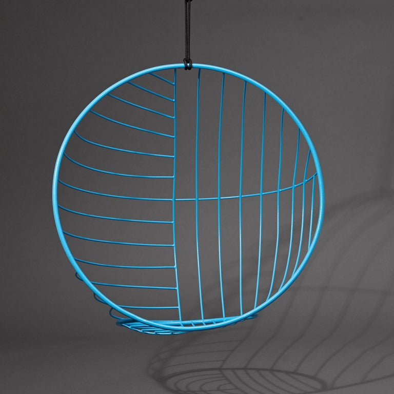 Hand-Crafted Bubble Hanging Swing Chair For Sale
