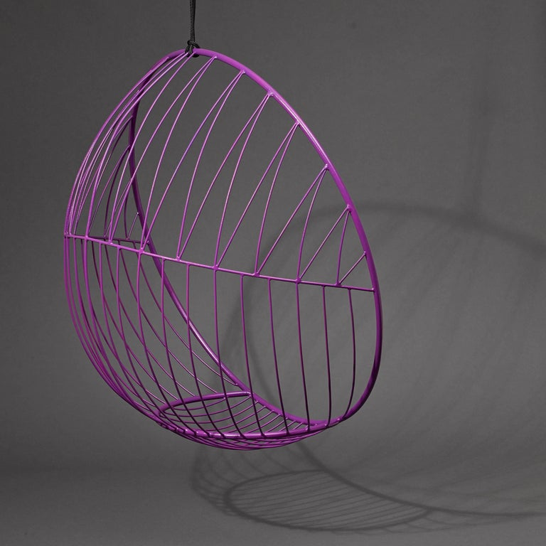 Steel Bubble Hanging Swing Chair For Sale