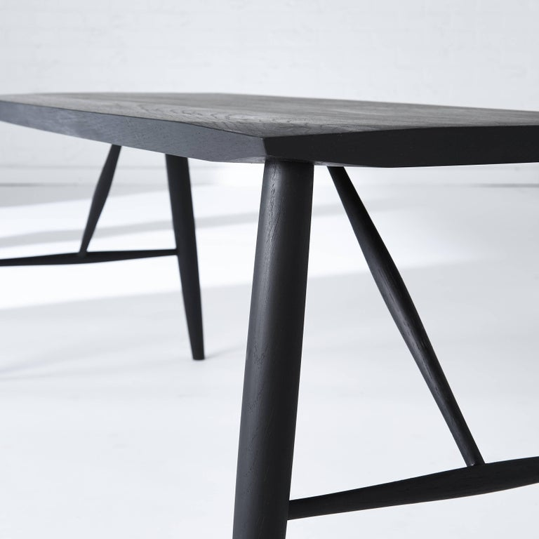 Canadian Minimalist White Oak Bench by Coolican & Company For Sale