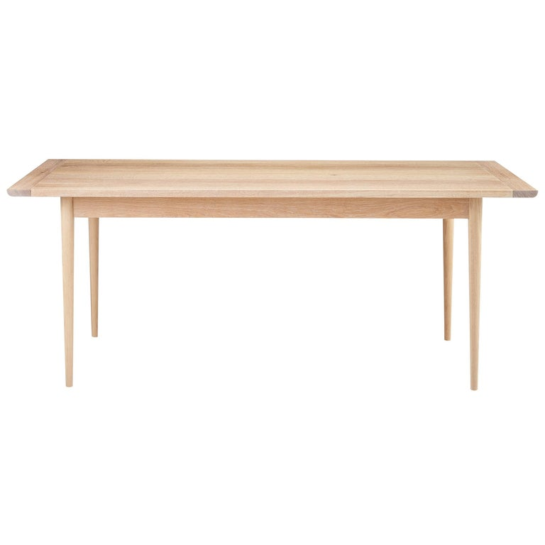 Contemporary Shaker Inspired Dining Table or Minimalist Desk