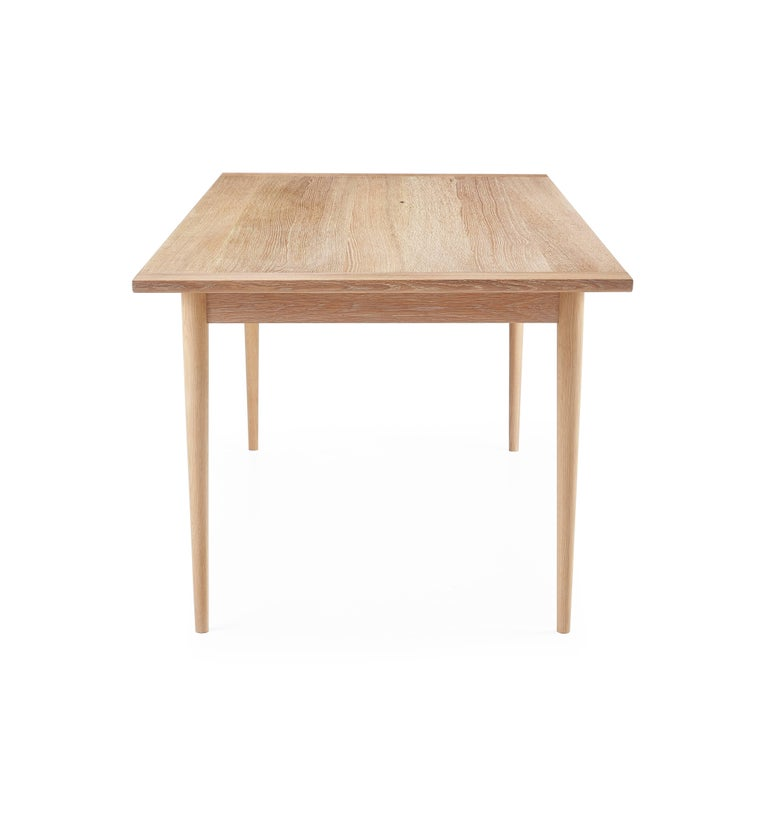 Contemporary White Oak Dining Table For Sale At 1stdibs