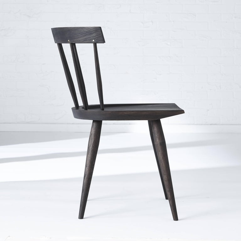 Canadian Modern Windsor Dining Chair For Sale