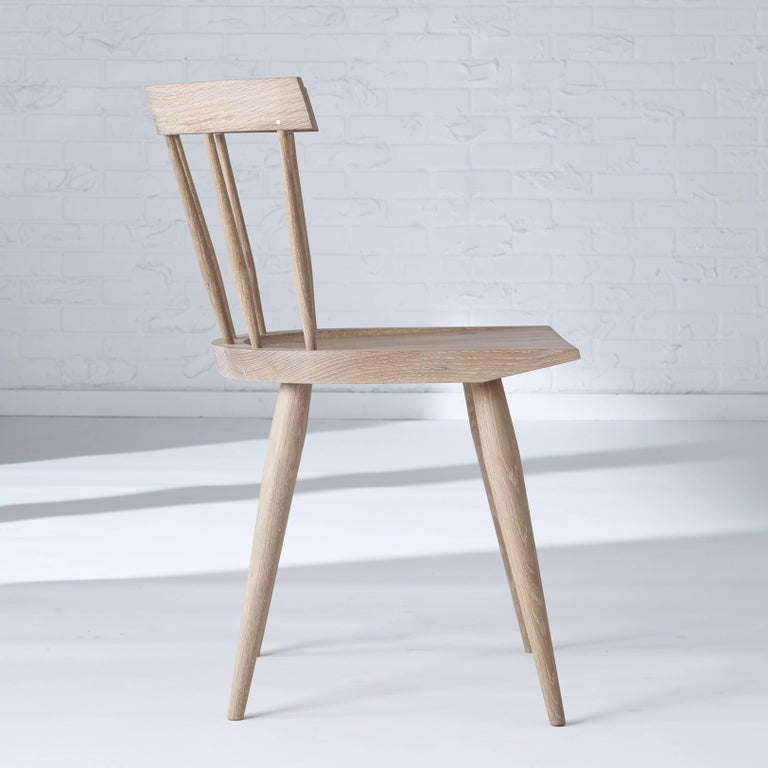 Modern Windsor Dining Chair In New Condition For Sale In Mississauga, Ontario