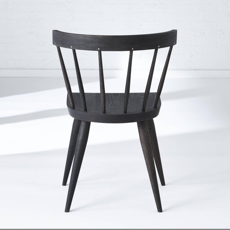 Contemporary Modern Windsor Dining Chair For Sale
