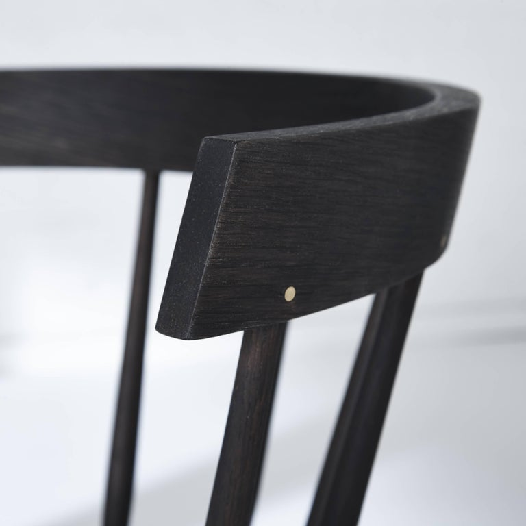 Modern Windsor Dining Chair For Sale 2