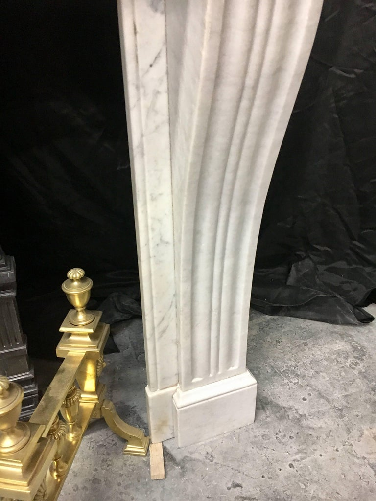 Antique Victorian French Fireplace Surround In Excellent Condition For Sale In Edinburgh, GB