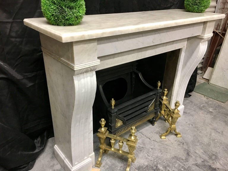 Antique Victorian French Fireplace Surround For Sale 1