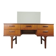 Mid-Century Teak Dressing Table/ Sideboard