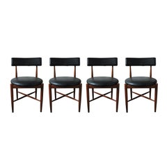 Teak Dining Chairs from G-Plan, 1960s, Set of Four