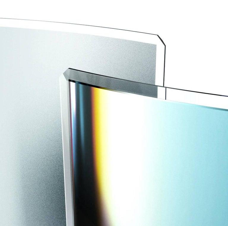 Minimalist Glas Italia Prism Partition For Sale