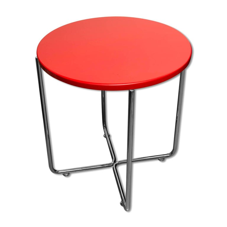 Bauhaus Coffee or Side Table from Vichr & Spol, 1930s, Bohemia For Sale 6