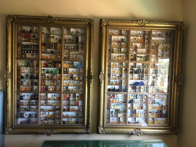 Pair Of Antique Quot Frames Quot Display Cabinets And Perfume