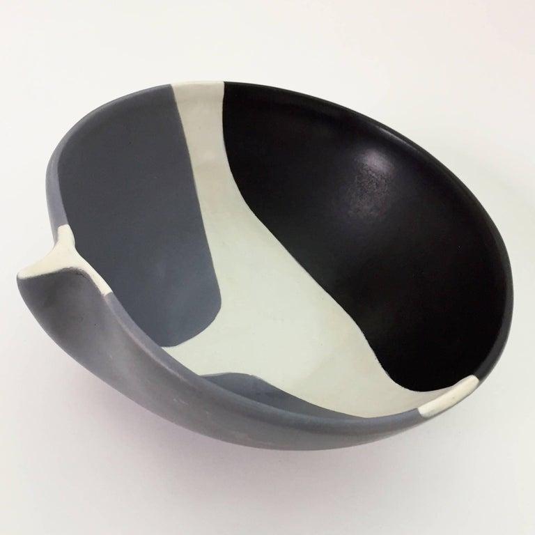 Enameled Mado Jolain, Ceramic Bowl For Sale