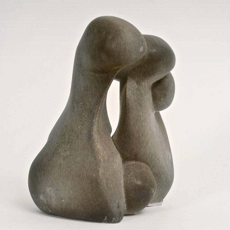 Mid-Century Modern Tim Orr Figurative Ceramic Sculpture For Sale