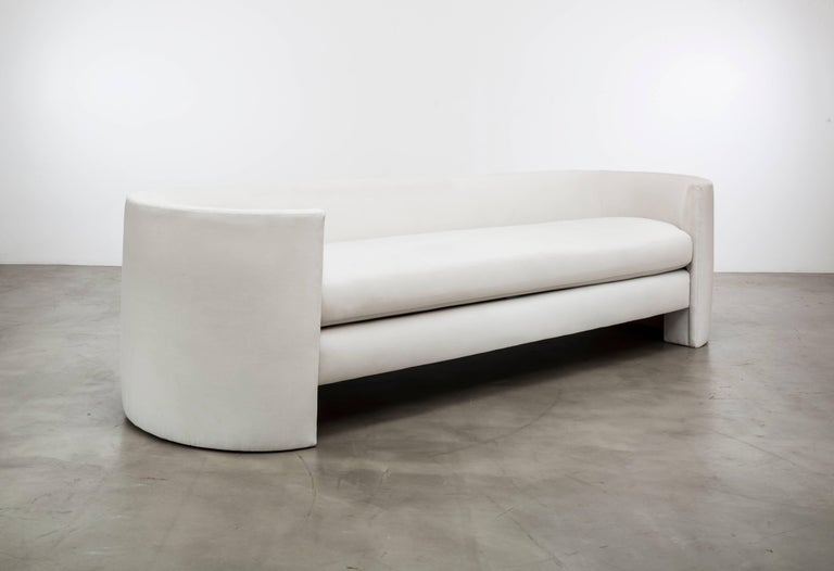 Modern Claire Sofa Showroom Sample For Sale