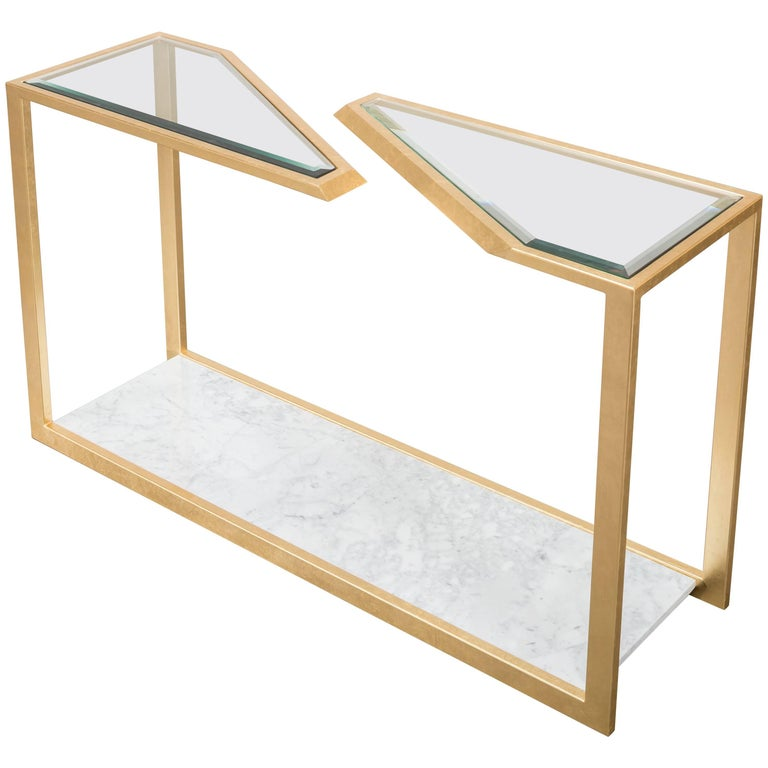 Pierre Console Table Showroom Sample For Sale