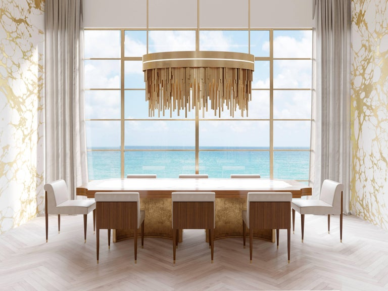 Contemporary Ambroise Chandelier For Sale
