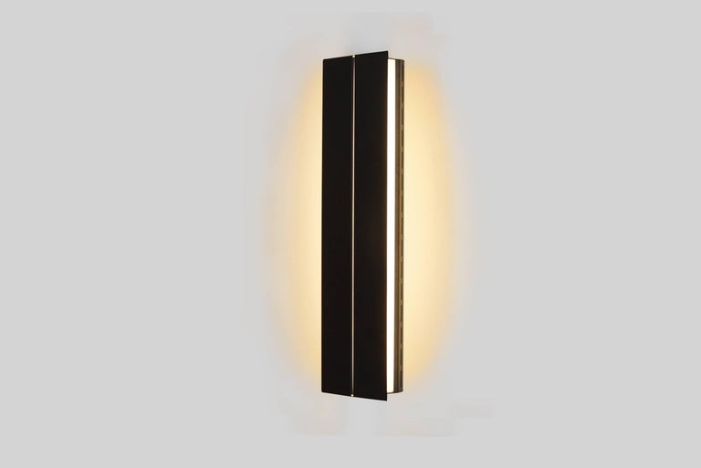 Outdoor Rated Ada Sconce 25 Black by Brendan Ravenhill In New Condition For Sale In Los Angeles, CA