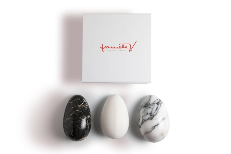Italian Black Marble Paperweight with Mouse Shape For Sale