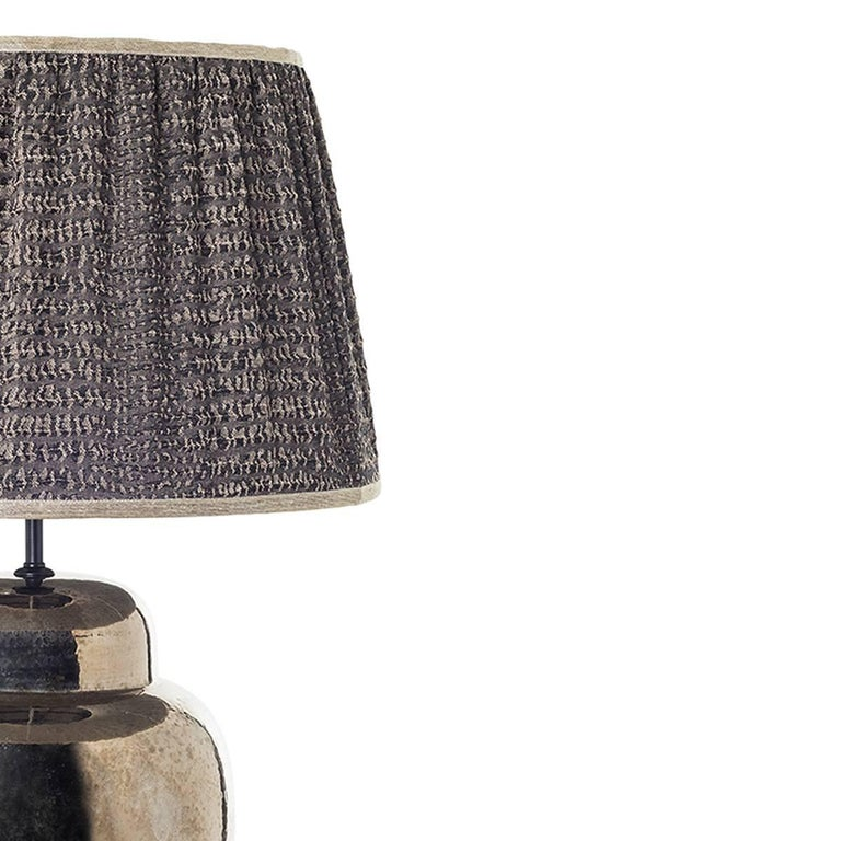 Pair of Sinuous Ceramic Table Lamps In New Condition For Sale In Calenzano, IT