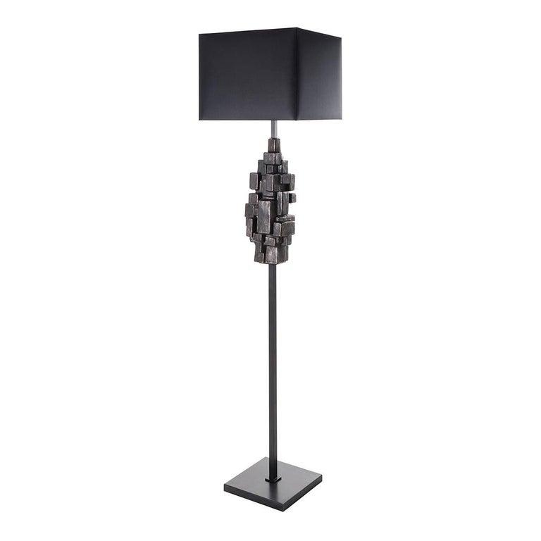 Sculptural Ceramic Floor Lamp